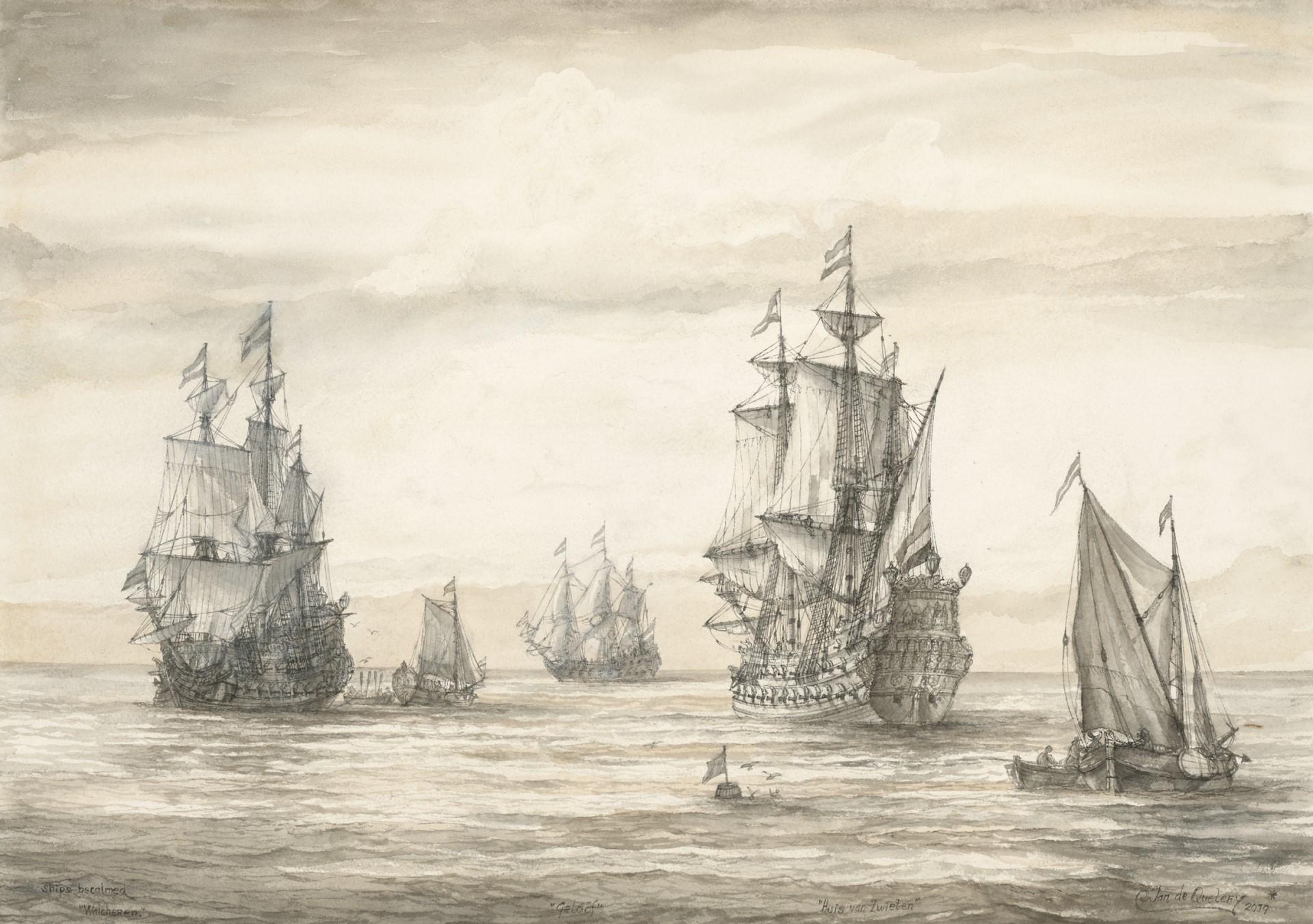 Ship be calmed and Walcheren