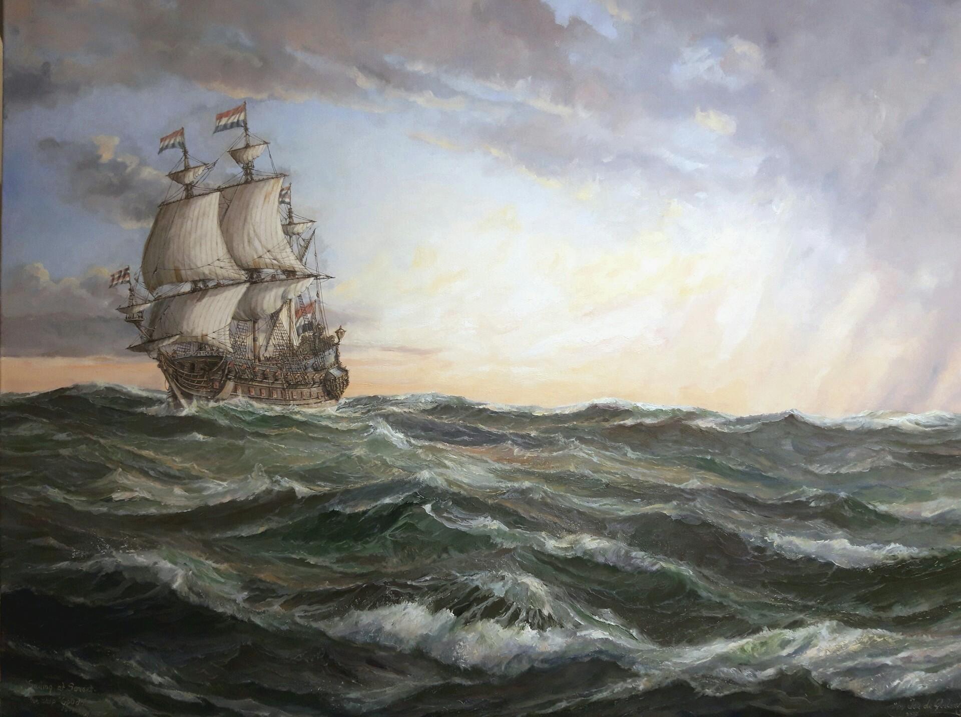 """The ship """"Gouda"""""""