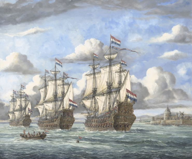 Admiral ships in front of Vlissingen  by Q.jpg